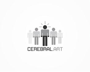 CerebralArt rebranding - 2008 temporary logo