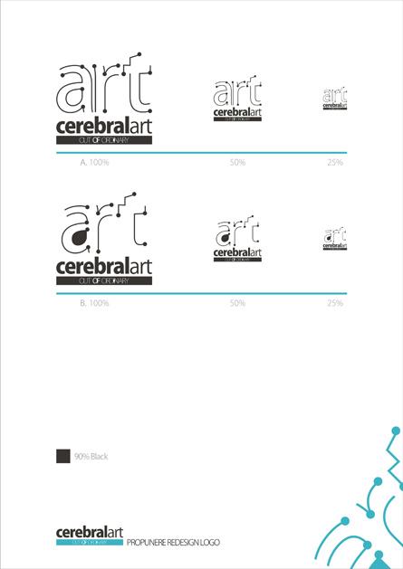 CerebralArt rebranding - logo redesign