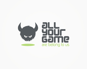 All your game, hardcore, gamers, game, games, gaming, community, for gamers, by gamers, logo, logos, logo design by Alex Tass