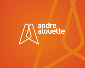 Andre Alouette, USA, electronic, club, house, progressive, music, dj, producer, dj and producer, logo, logos, logo design by Alex Tass