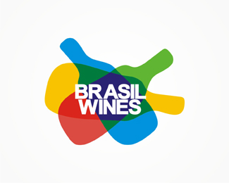 Brasil, Brazil, Brazilian, wine, wines, logo, logos, logo design by Alex Tass