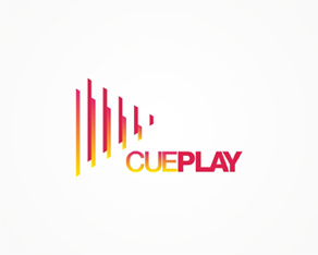 Cue Play, DJ gear, DJ, gear, music production, music, production, mixing, equipment, distribution, company, logo, logos, logo design by Alex Tass