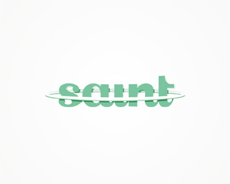 dj saint, electronic music, dj, producer, saint, dj and producer, aura, saint, logo, logos, logo design by Alex Tass and Deividas Bielskis