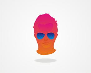 Experimental, concept, design, work, personal, branding, personal branding, freelance, designer, personal mark, mark, logo design, symbol, portrait, graphic design, logo, logos, logo design by Alex Tass
