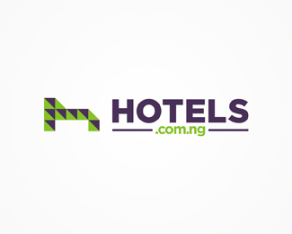 hotels.com.ng, Nigeria, Nigerian, hotels, accommodation, online, web, directory, logo, logos, logo design by Alex Tass
