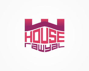 House Rawyal, Malta, house music, electronic music, clubbing, events, organizer, promoter, logo, logos, logo design by Alex Tass