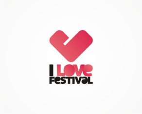 I Love Festival, Romanian, electronic,  alternative, music, festival, identity, identity design, logo, logos, logo design by Alex Tass