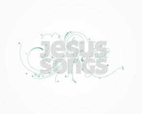 Jesus Songs, Jesus, songs, music, Christians, spiritual, artistic, work, online, platform, community, network, logo, logos, logo design by Alex Tass
