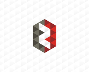 zeropark, online, domain parking, company, triangle, geometric, logo, logos, logo design by Alex Tass
